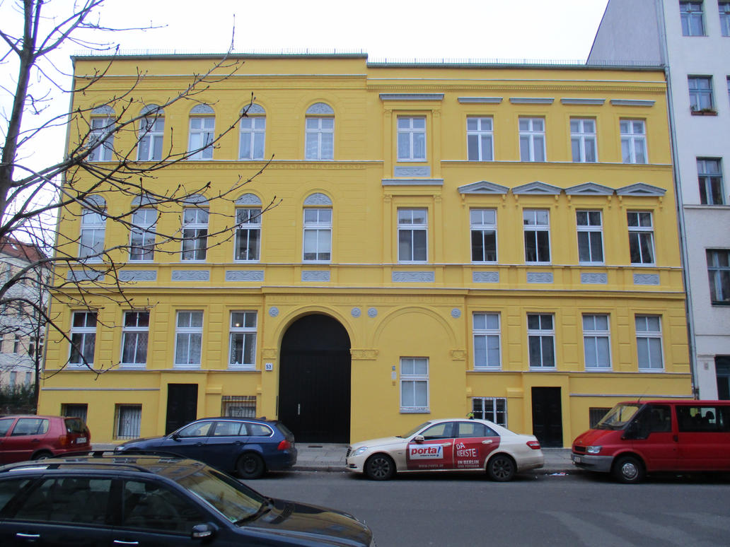 Yellow Facade by tilianus