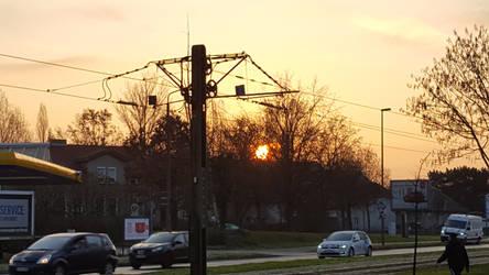 Sunrise in Lichtenberg