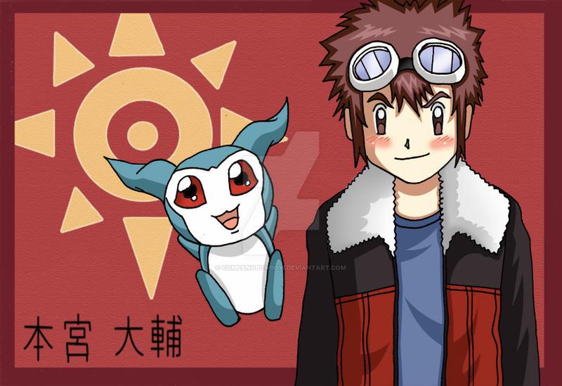 Motomiya Daisuke - Digimon 02 by companybowbow