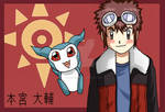 Motomiya Daisuke - Digimon 02