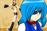 Nyansai with Kagamine Rin fanart