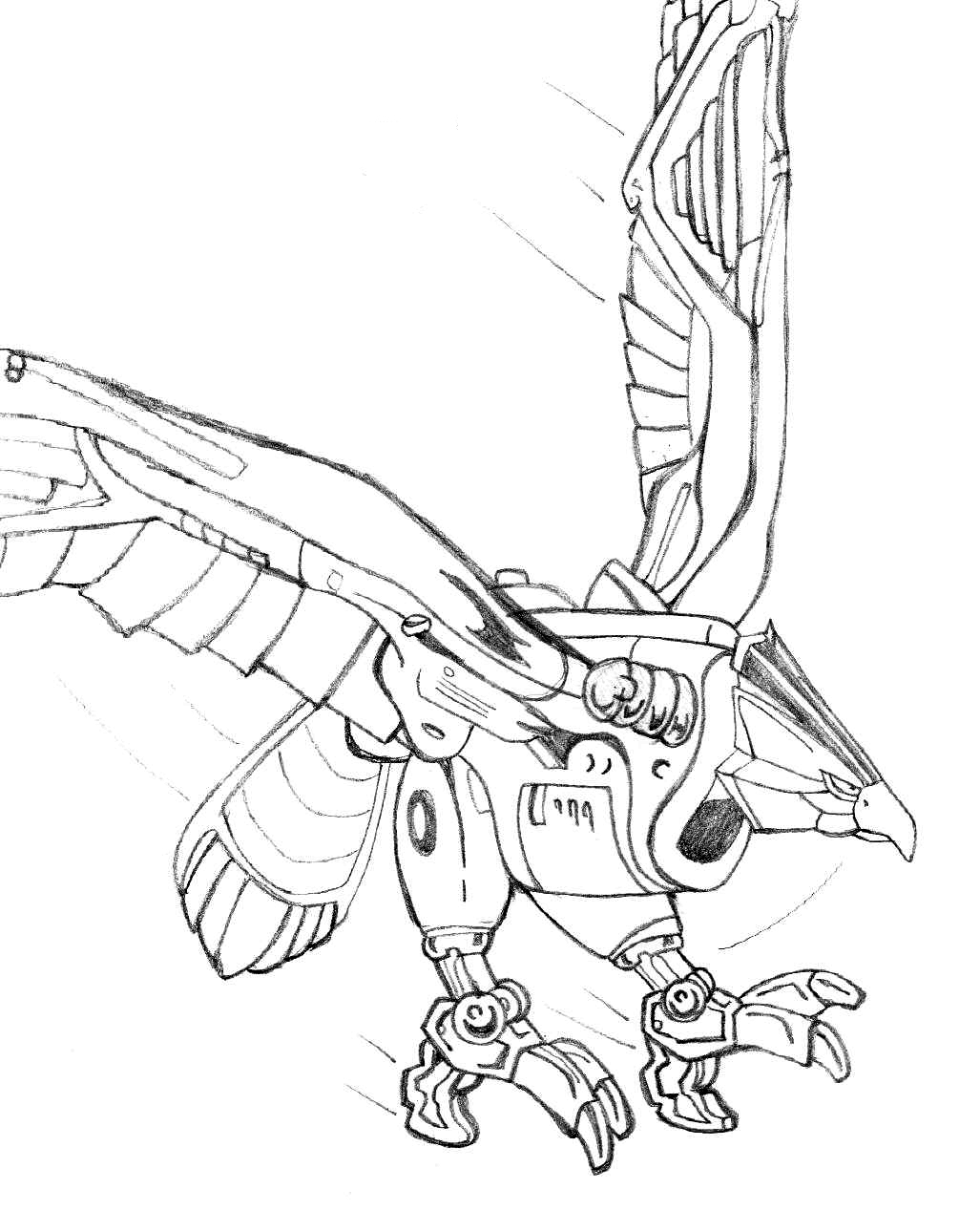 Power ranger step by step coloring pages for Mighty morphin power rangers coloring pages