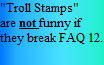 Troll Stamps 2(Read Desc.) by Griffonmender
