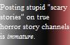 True Horror Stories(Read Desc.) by Griffonmender
