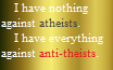 Atheist vs Antitheism (Read Desc.) by Griffonmender