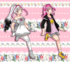 Hush! Pretty Cure Les Shelters :: Cure Myrtle by chiyako92
