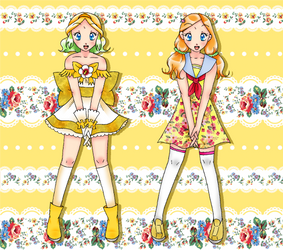 Hush! Pretty Cure Les Shelters :: Cure Cedar by chiyako92