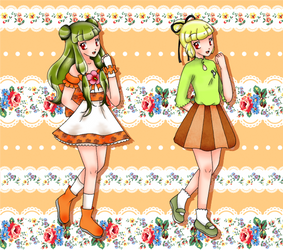 Hush! Pretty Cure Les Shelters :: Cure Persimmon by chiyako92