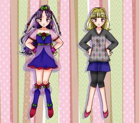 Pretty Cure Season Light :: Cure Rosebud by chiyako92