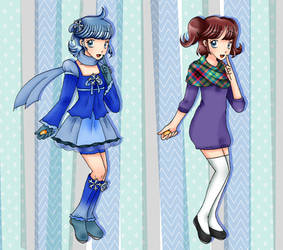Pretty Cure Season Light :: Cure Snowflake by chiyako92