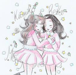 Merry tender Christmas! feat Kumiko and Reiko by chiyako92