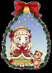 Secret Santa for Artistic-Ana by chiyako92