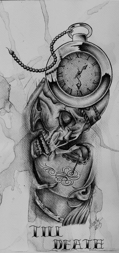 till death tattoo design by munky69 on deviantart. Black Bedroom Furniture Sets. Home Design Ideas