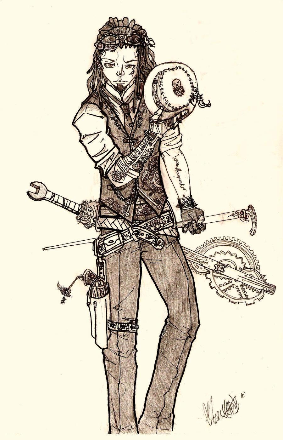 Mr. Steampunk Gentleman by uchihasato on DeviantArt