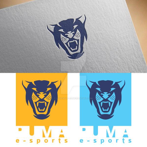 PUMA e-sports mascot logo by lonewulf-eu