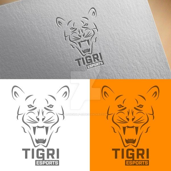TIGRI e-sports mascot logo by lonewulf-eu