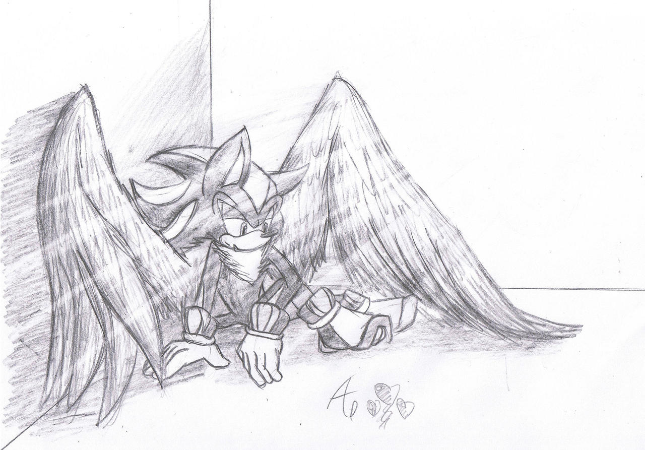 Fallen angels anime drawing