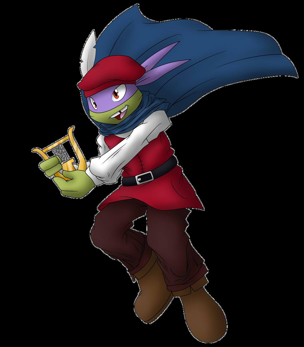 Trick or Treat Tussle TMNT Donatello