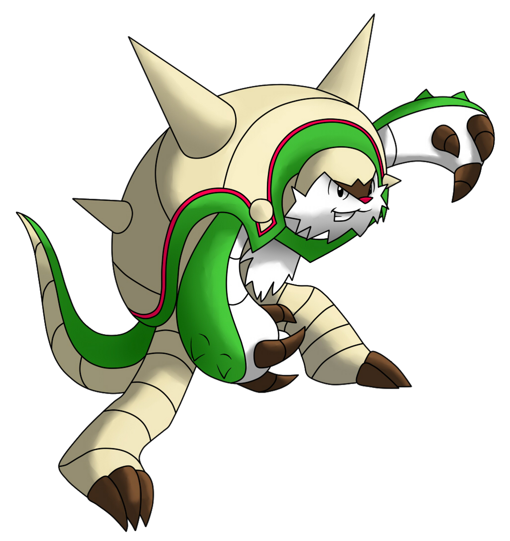 How To Draw Chesnaught