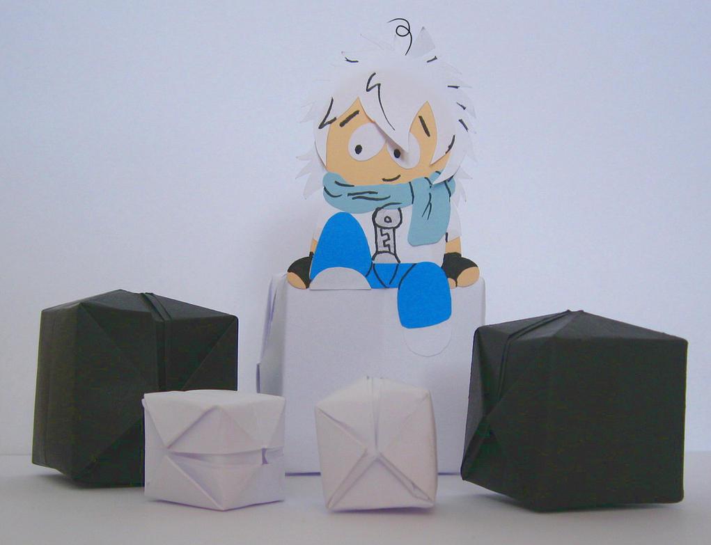OMG ! Origami cubes ! by AR-ameth