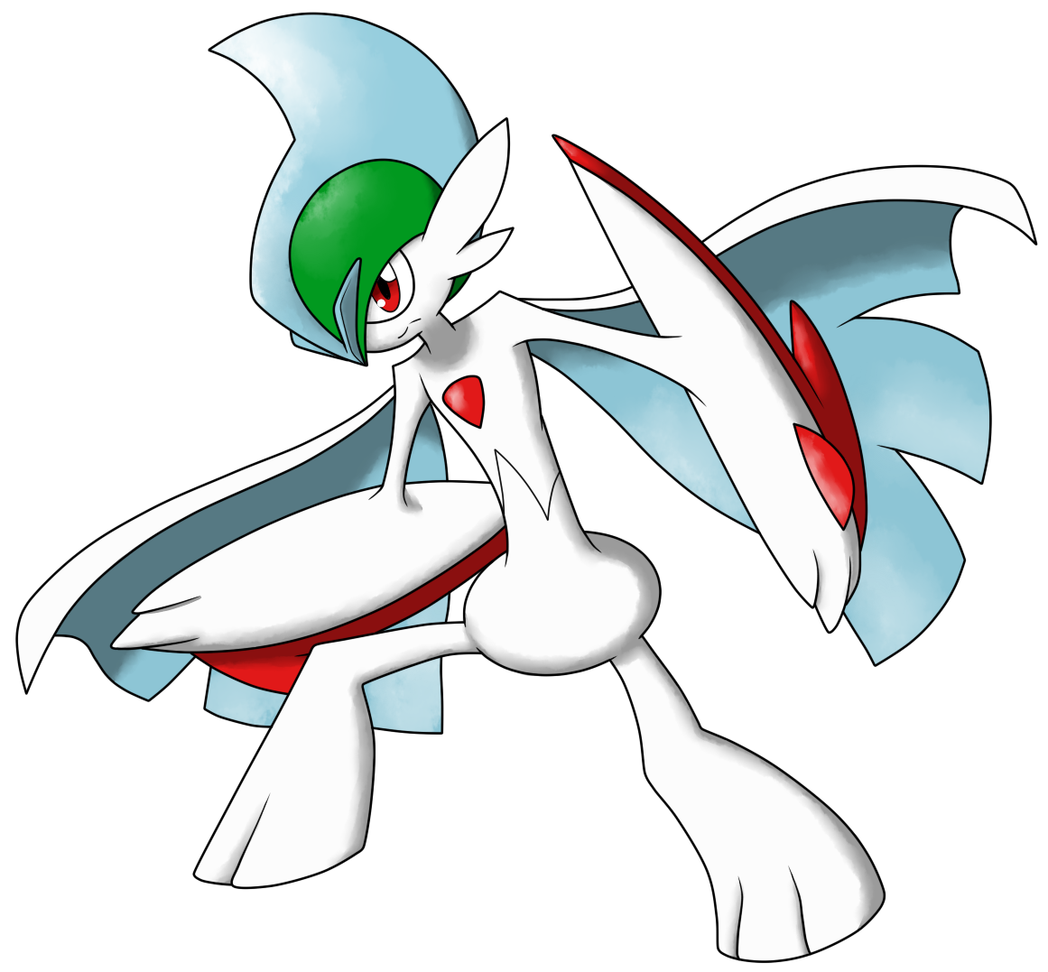 Mega Gallade by AR-ameth