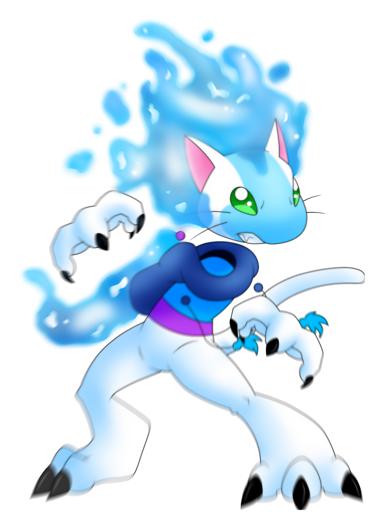Asaiko - The water cat by AR-ameth