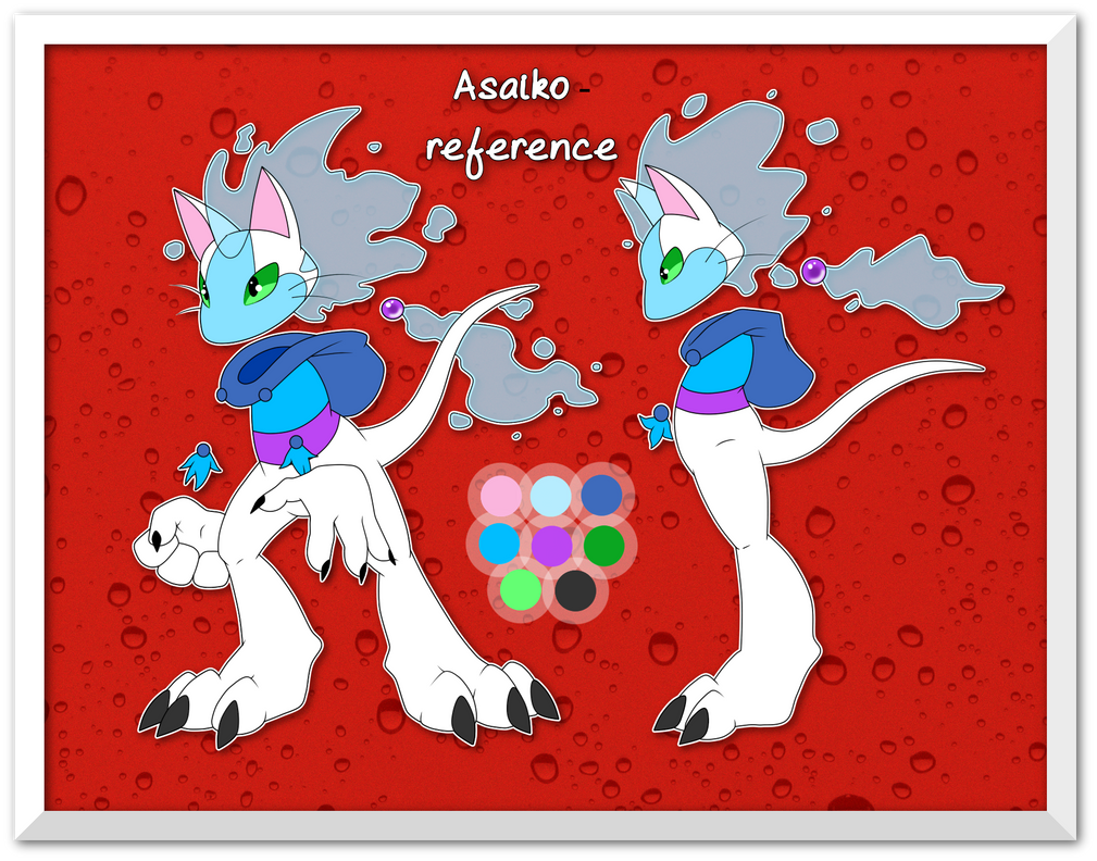 Asaiko - reference sheet by AR-ameth