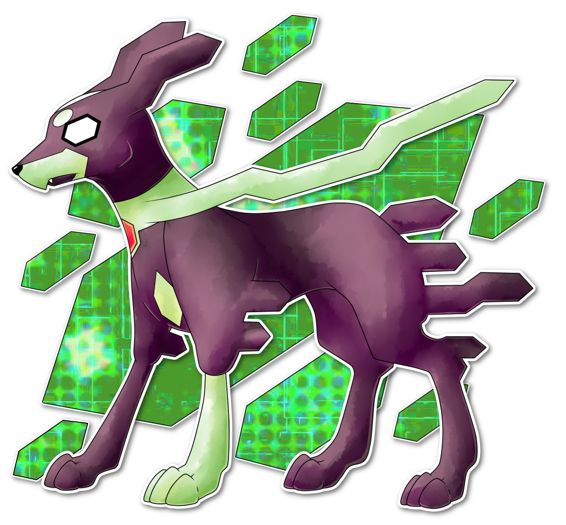 Zygarde 10% forme by AR-ameth on DeviantArt