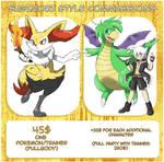 Sugimori Style Commissions [OPEN]