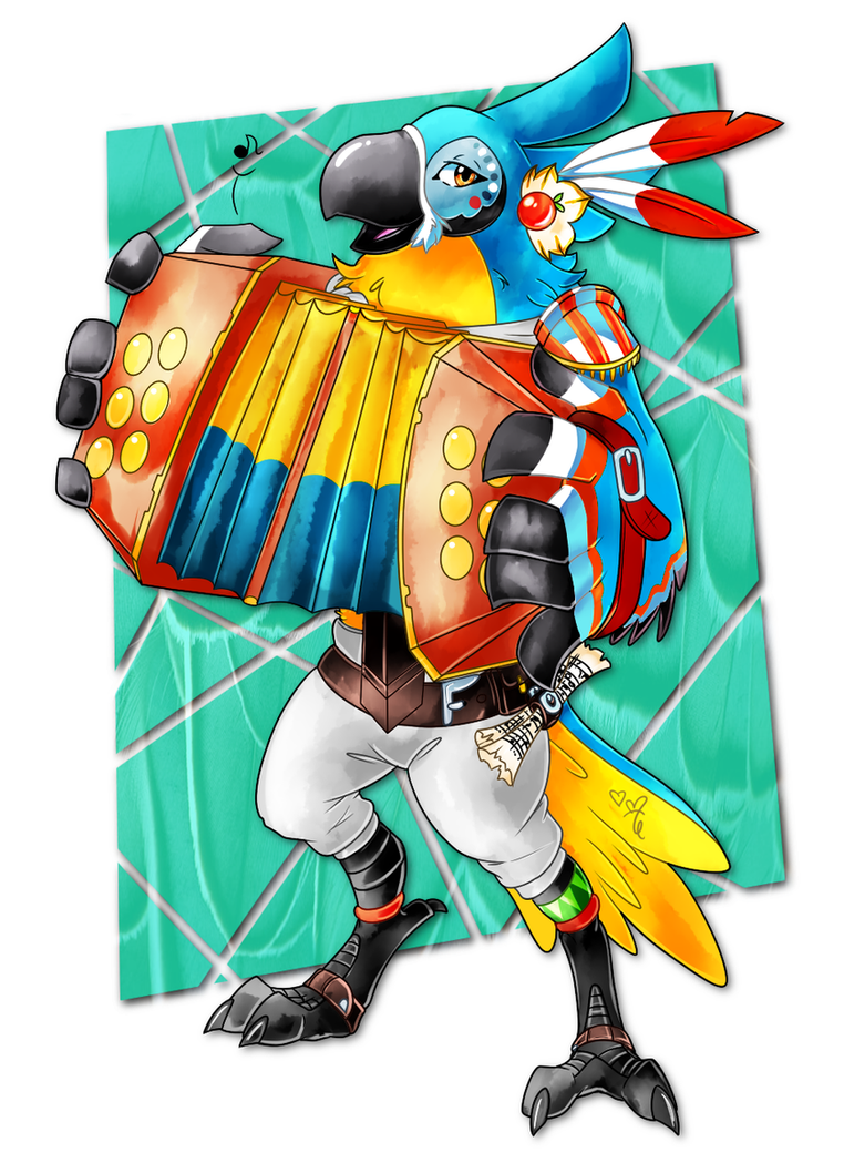 *listens to his accordion play* by AR-ameth