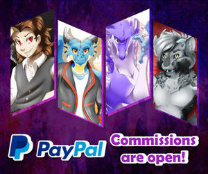 PayPal Commissions are OPEN!