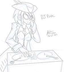 DJ Pirate (30 minute challenge) by JonFawkes