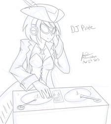 DJ Pirate (30 minute challenge) by JonFawkes
