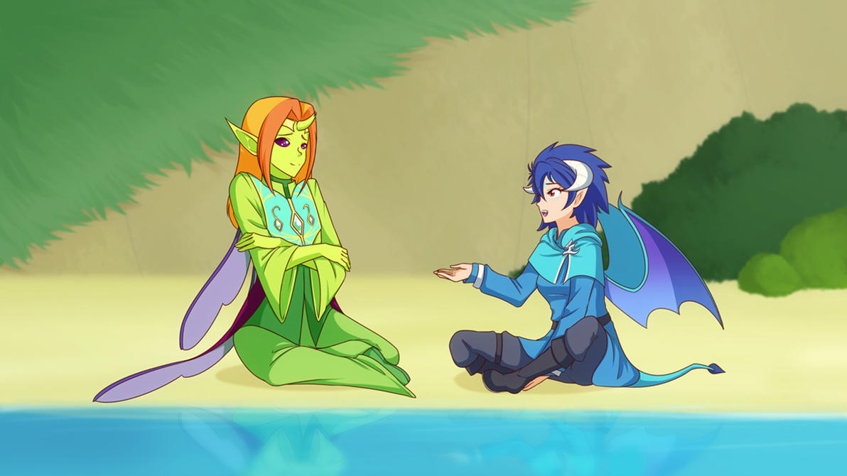Leaders (Pic of the week MLPS7E15) by JonFawkes