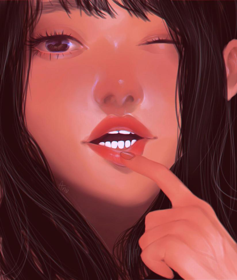 Lips by Aniitsu