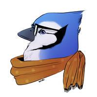 BlueJay Kid by Papercut-Cranes