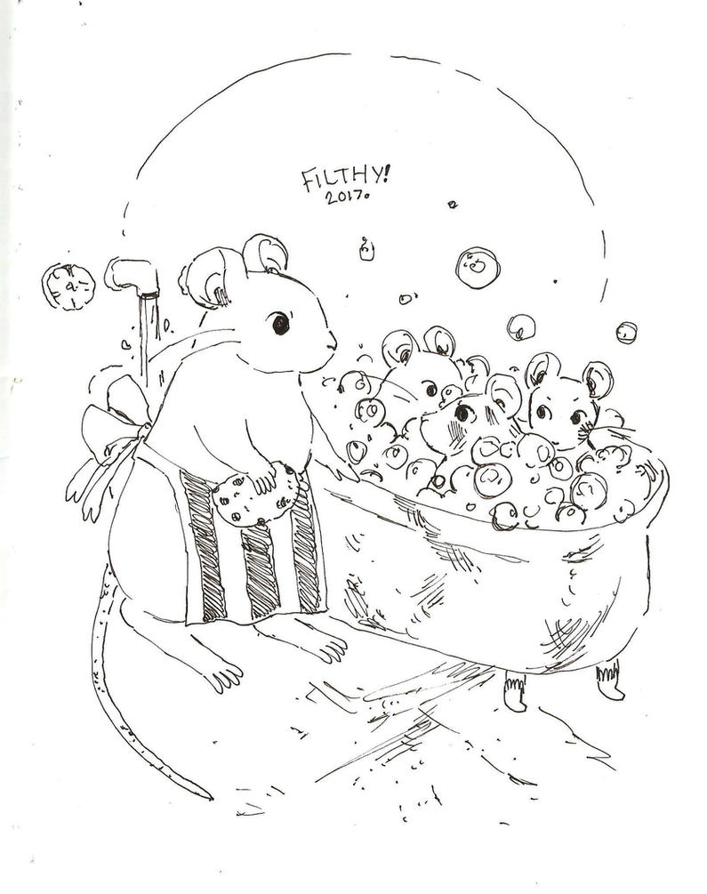 Inktober 18 by Papercut-Cranes
