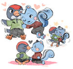 Filbert And Jay Bein Cute