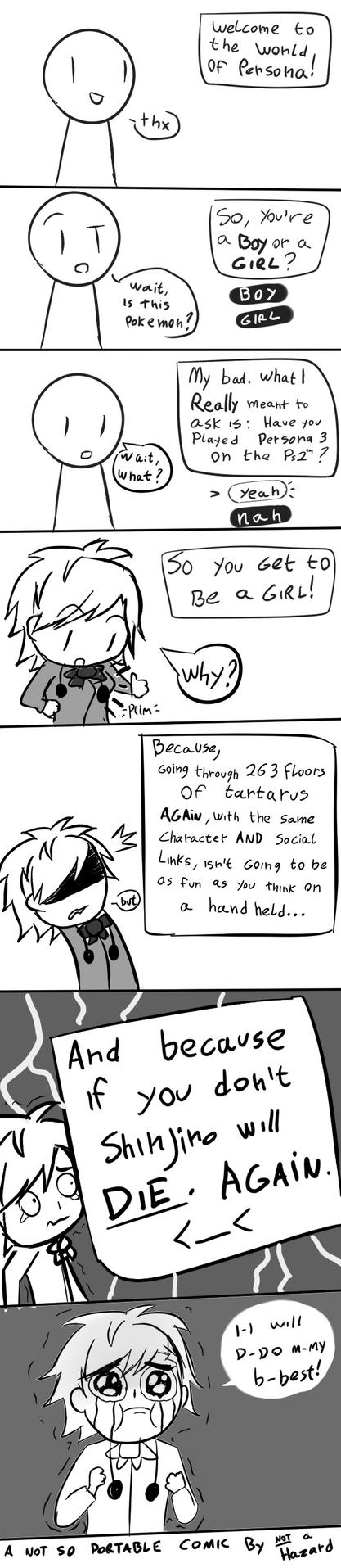 A not so Portable comic 1 by Not-a-Hazard