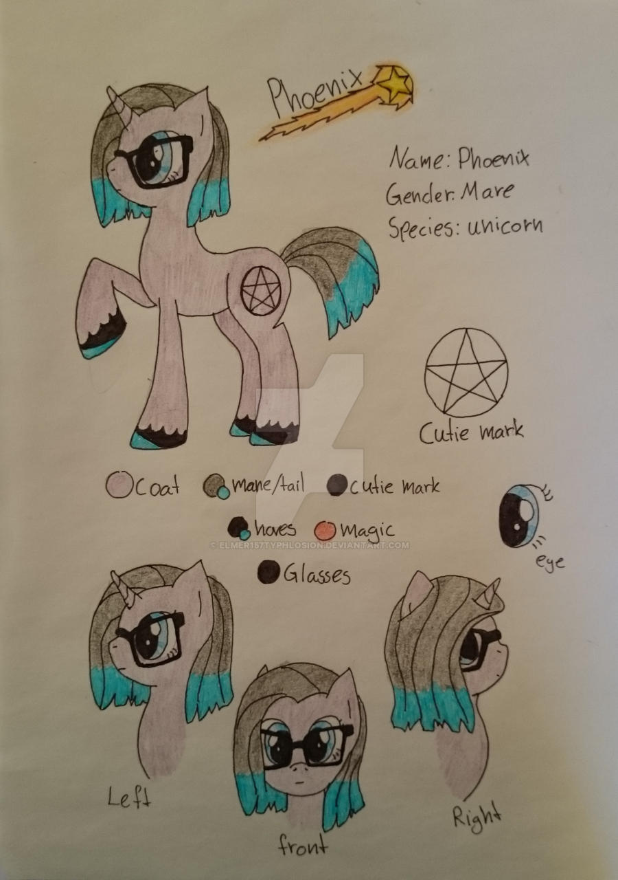 MLP: Phoenix Oc (Request) by Elmer157Typhlosion