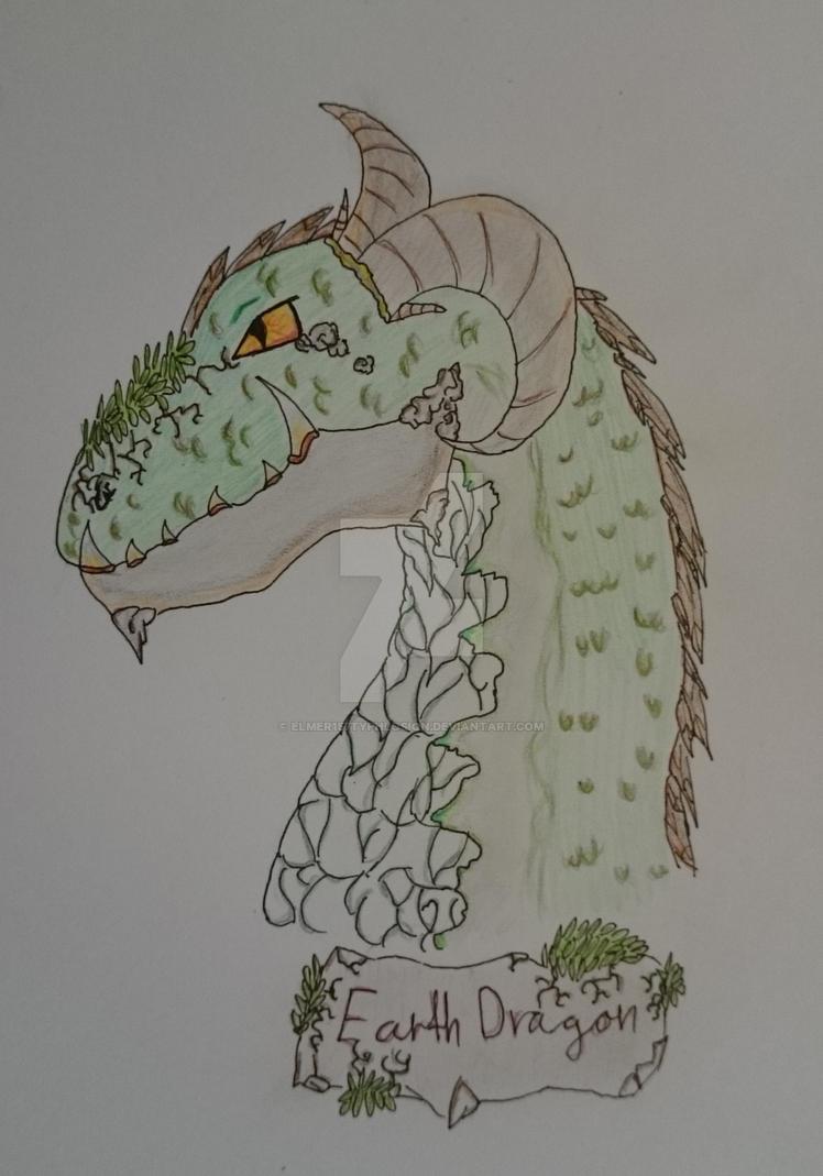 Earth Dragon by Elmer157Typhlosion