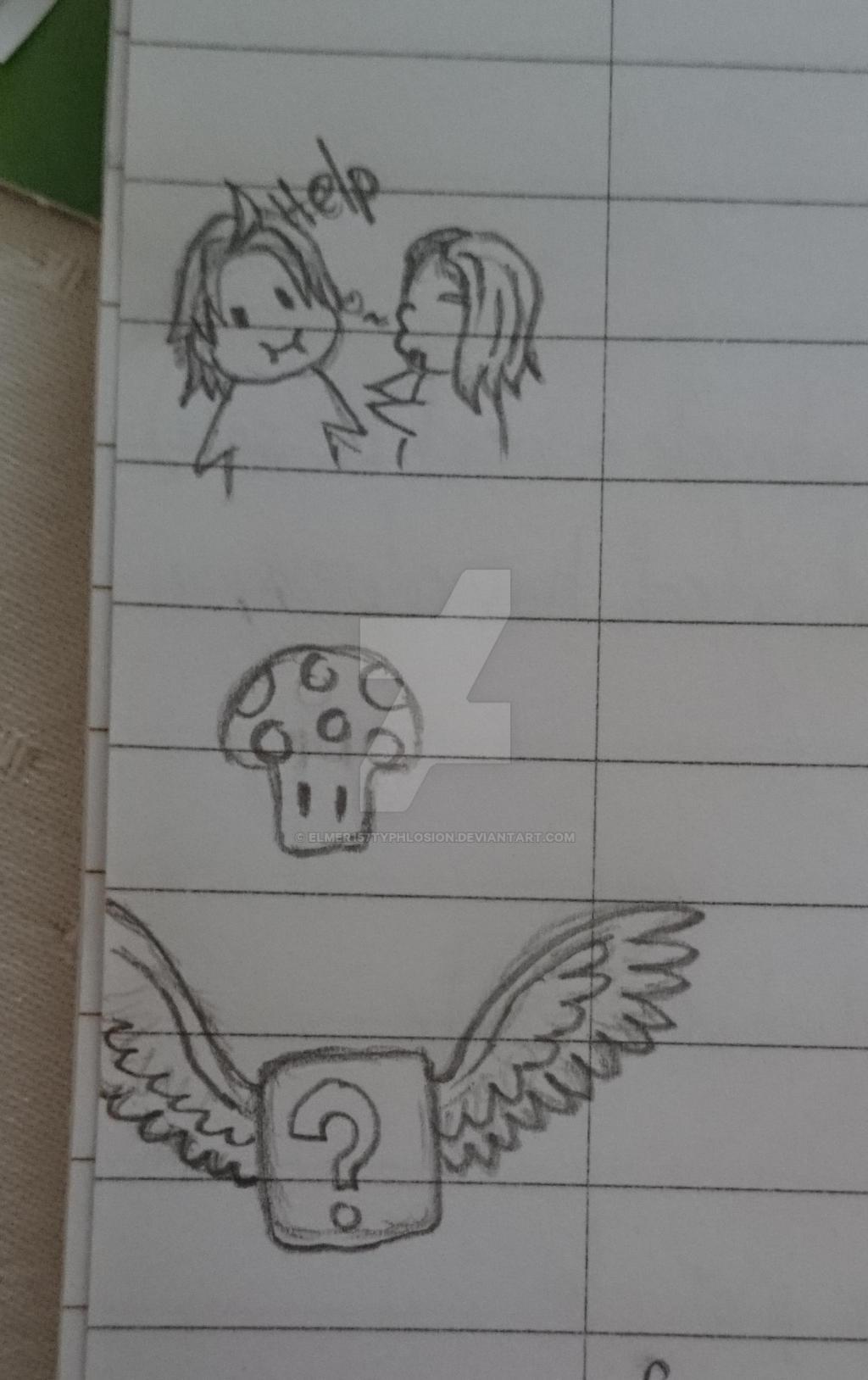 Chibi sih Mario drawings by Elmer157Typhlosion