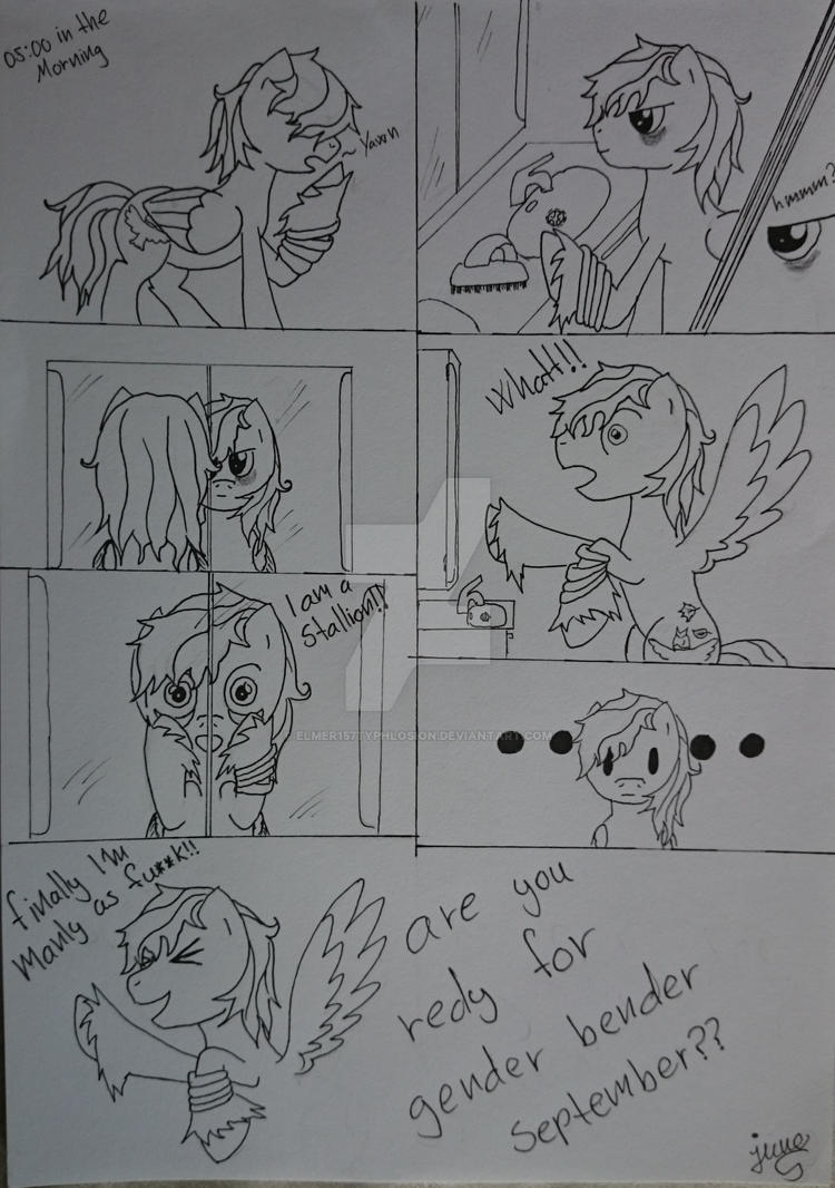 It's September (comic) #1 by Elmer157Typhlosion