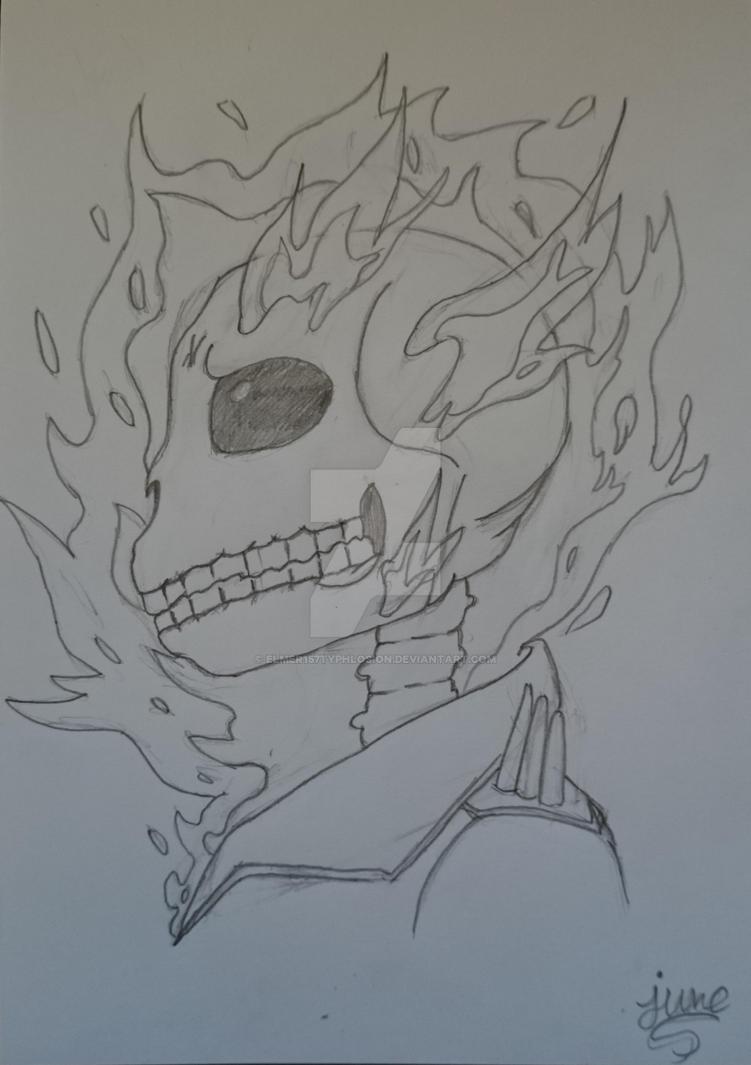 Ghost Rider by Elmer157Typhlosion