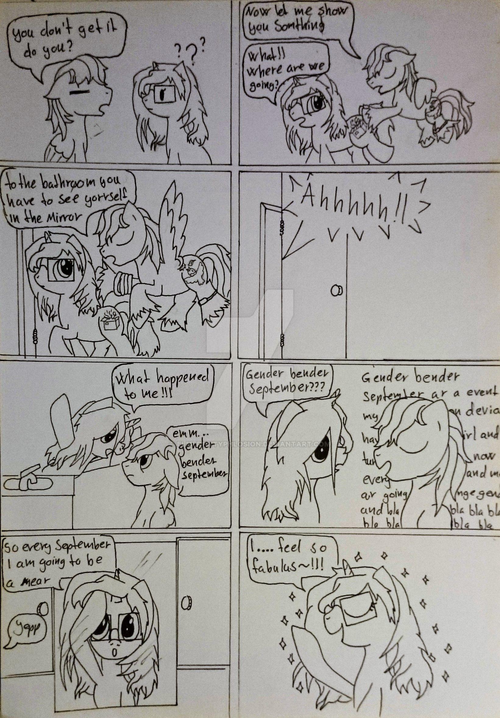 It's September (comic) #3 by Elmer157Typhlosion