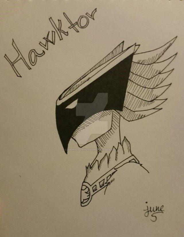 Bakugan: Hawktor by Elmer157Typhlosion