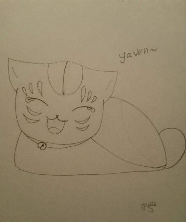 Sleepy Madara ''Nyanko-Sensei'' by Elmer157Typhlosion