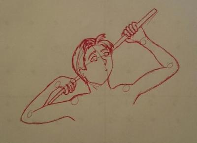 Pose sketch by Elmer157Typhlosion