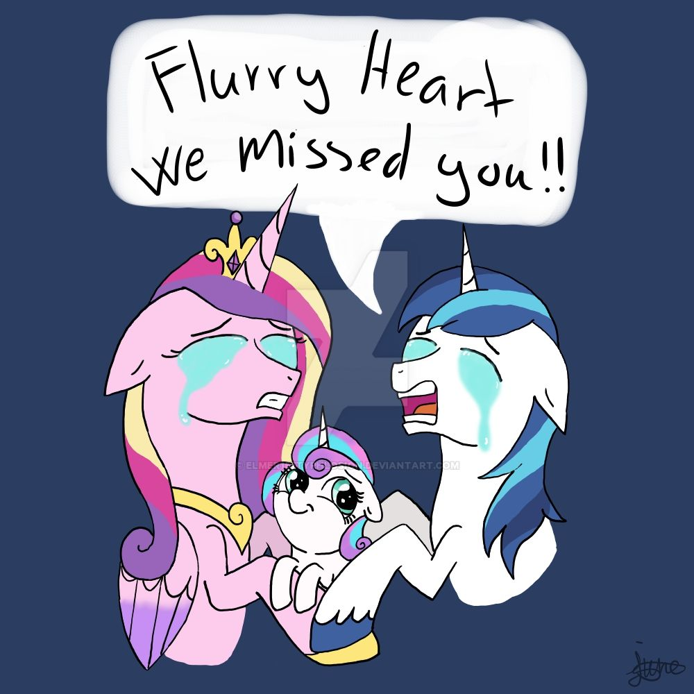 MLP: We missed you by Elmer157Typhlosion