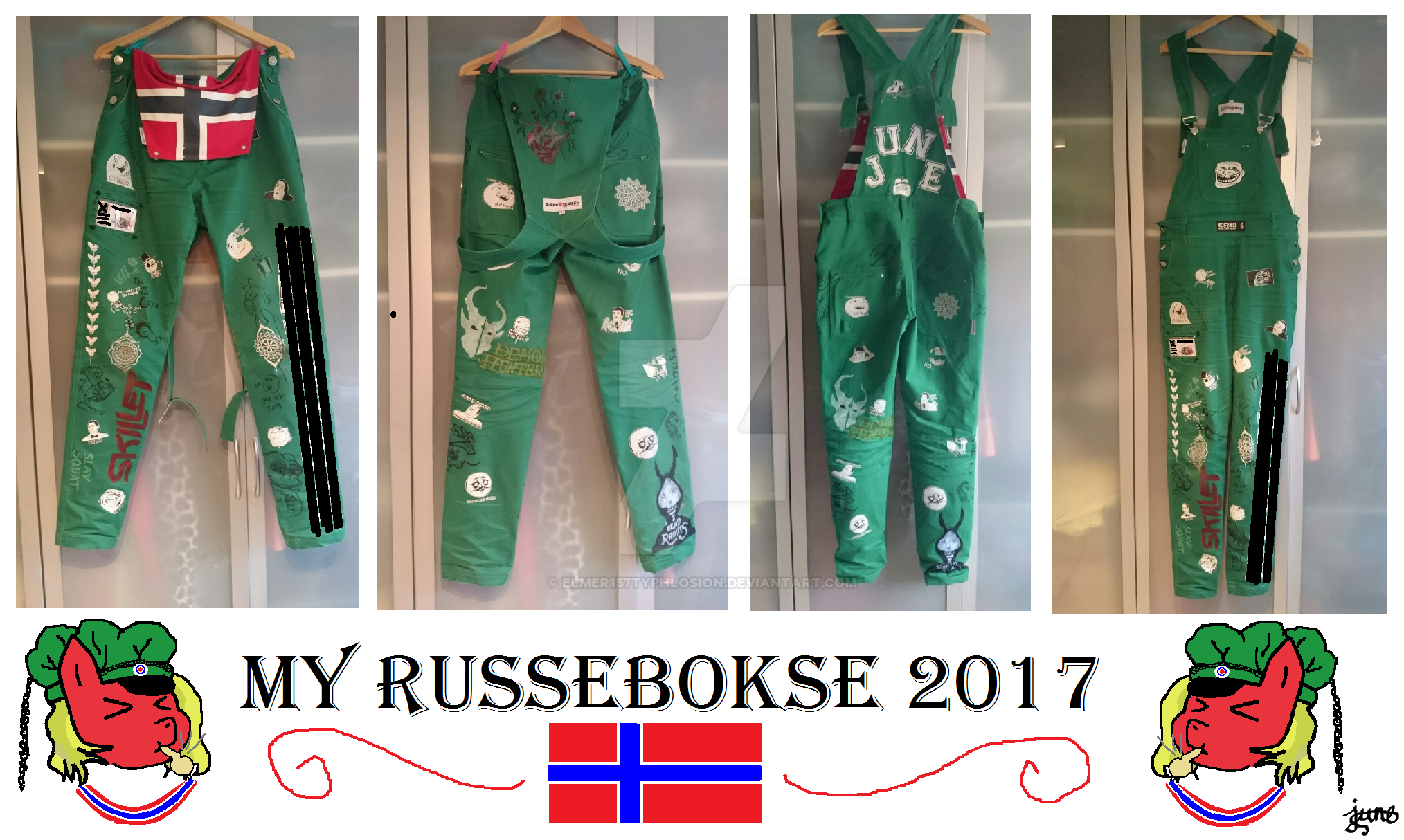 My Russebokse 2017 (Info in description) by Elmer157Typhlosion